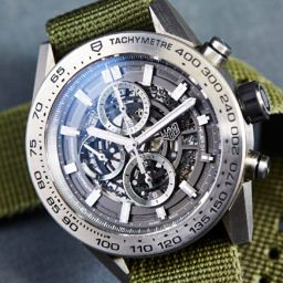 26034f78e EDITOR S PICK  Spending a year with the TAG Heuer Carrera Heuer 01  Grey  Phantom