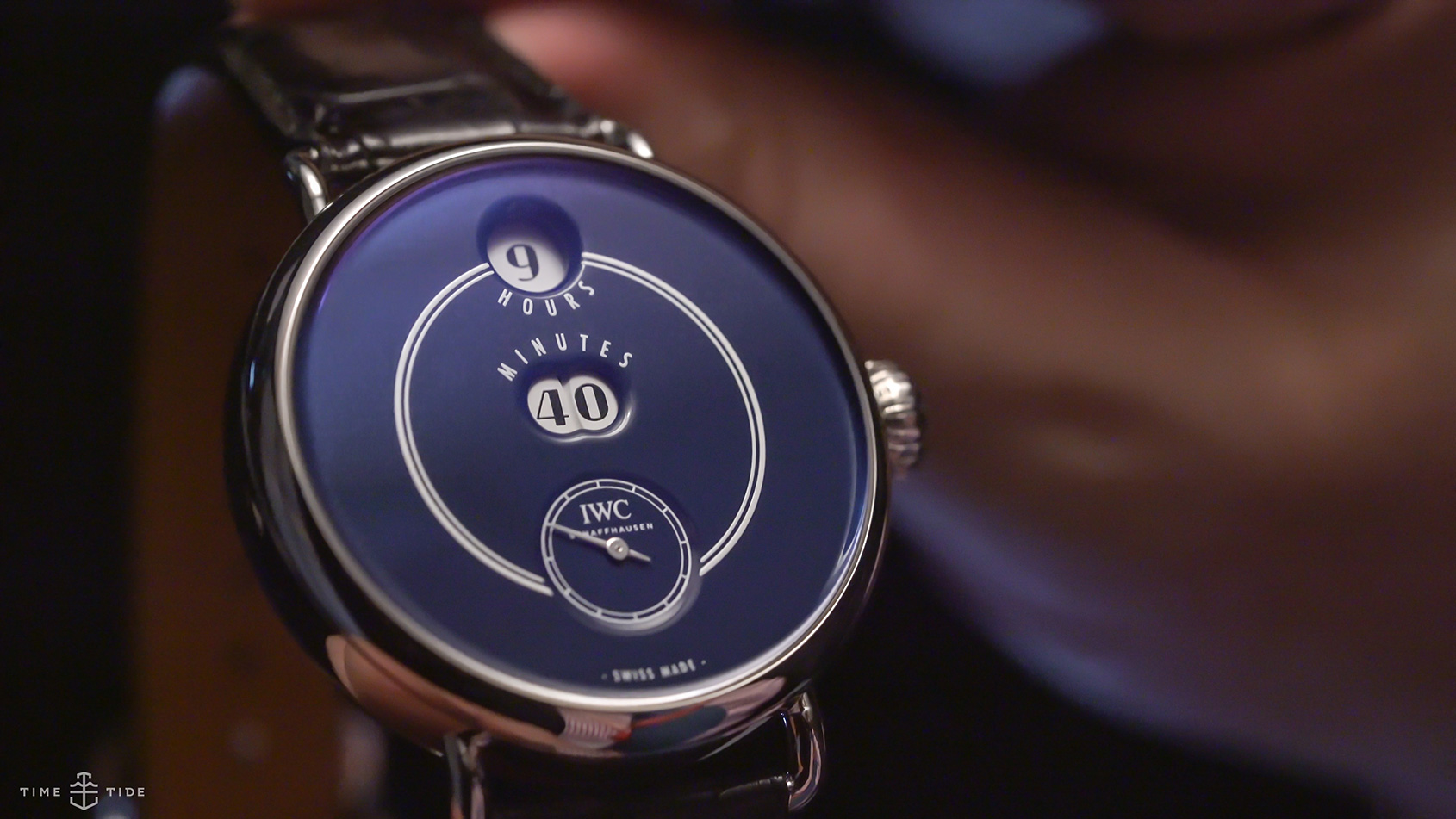 """IWC TRIBUTE TO PALLWEBER EDITION """"150 YEARS"""" best watches without hands"""