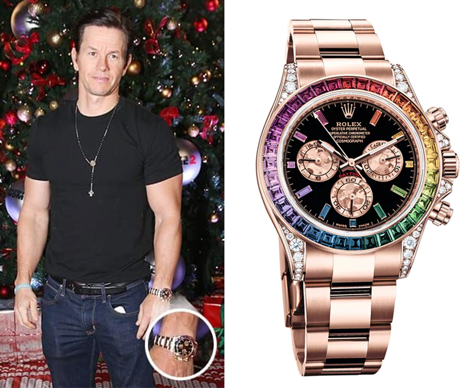 LIST 4 watches Mark Wahlberg wears on a daily basis that