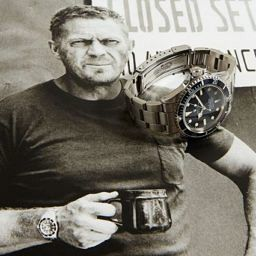 Steve McQueen watches