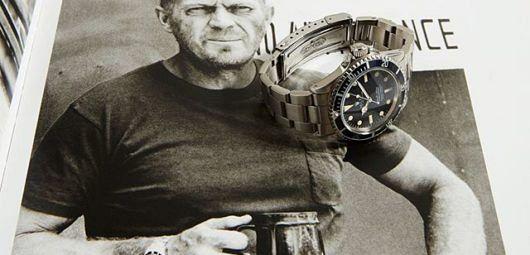 Steve McQueen watches