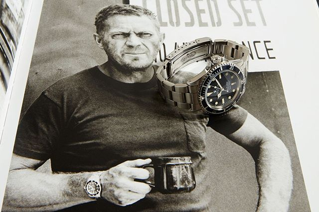 33936103 649983712003458 8420577984204767232 n - RECOMMENDED READING: Steve McQueen and the watches he wore
