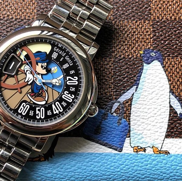 Today @andygreenlive runs us through one of the more unusual, and focused watch collections we've seen in the while, the Disney-tastic watches of @super.corgi ️️