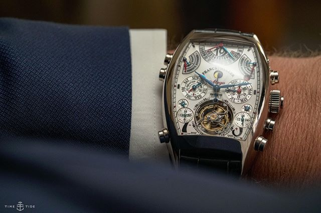 Franckly my dear ... it's complicated. ( @franckmuller_asia )