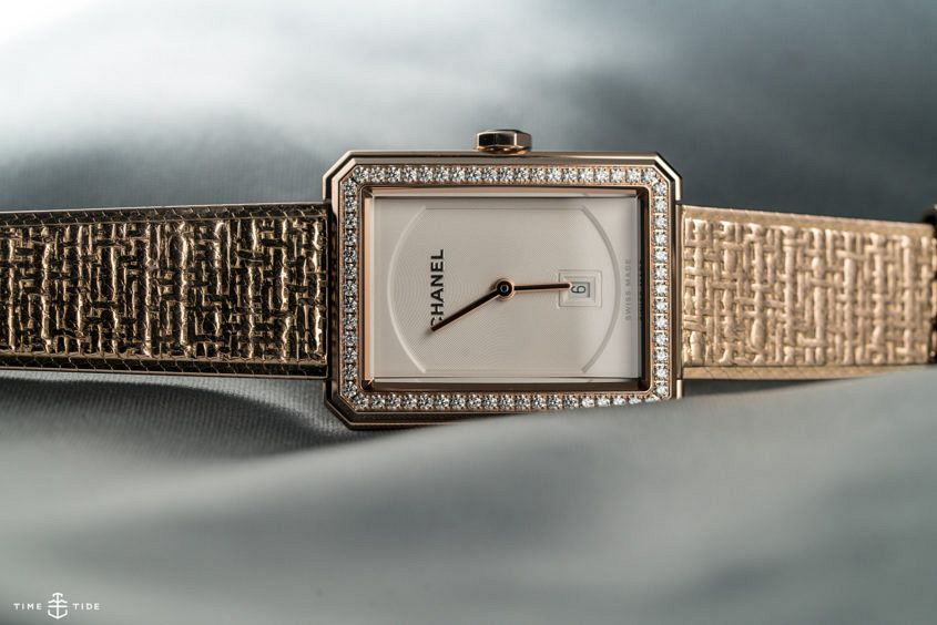 Chanel boy.friend tweed 845x564 - INSIGHT: A brief history of time – as seen by Chanel