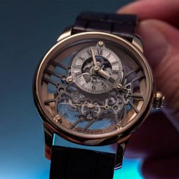 VIDEO: Jaquet Droz's Grande Seconde Skelet-One shows off its strong bones