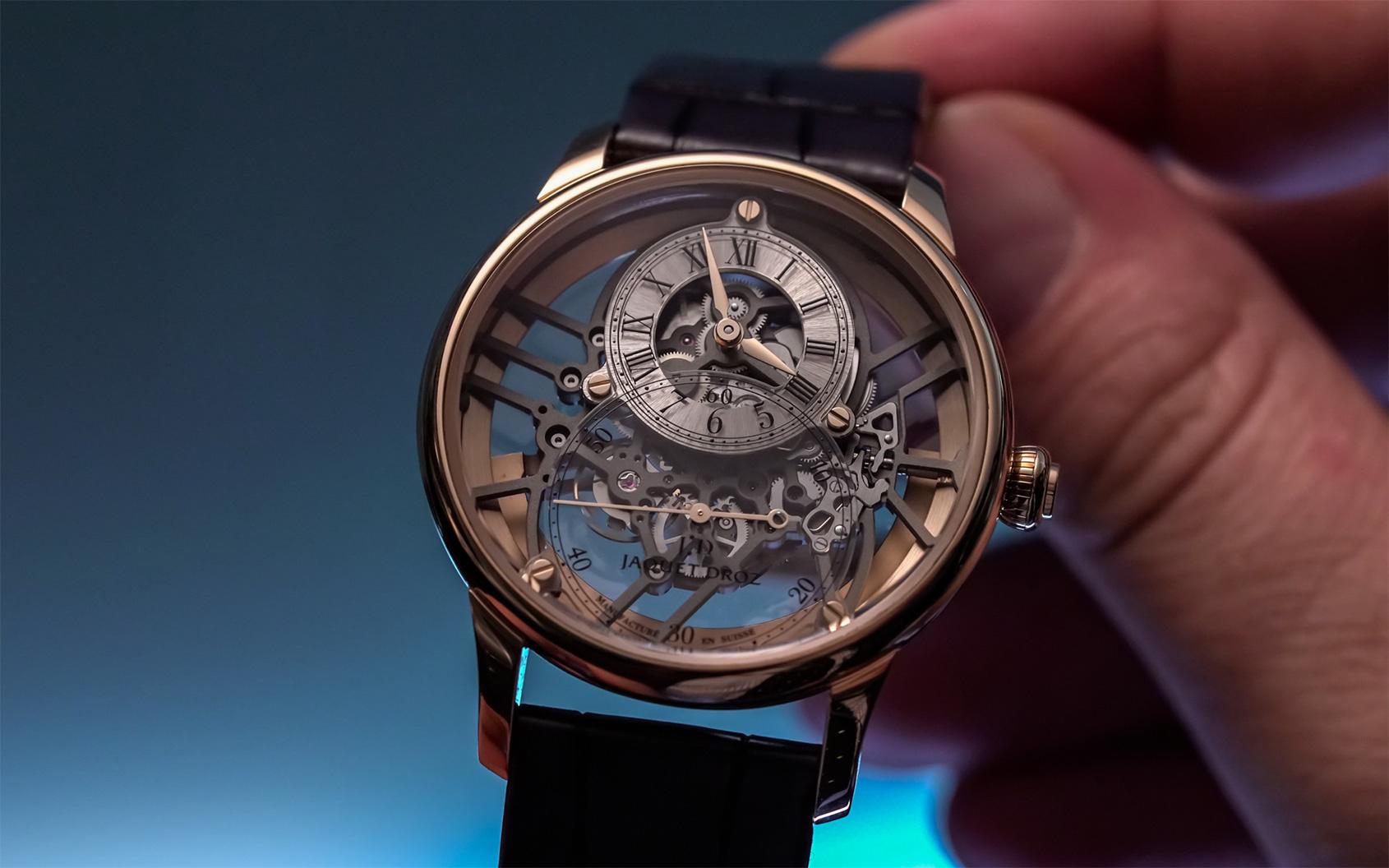Jaquet Droz Grande Seconde Skelet one 4 Swiss Watch Luxury