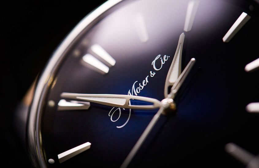 H. Moser & Cie Pioneer dial