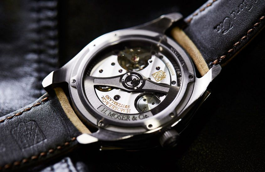 H. Moser & Cie Pioneer movement.