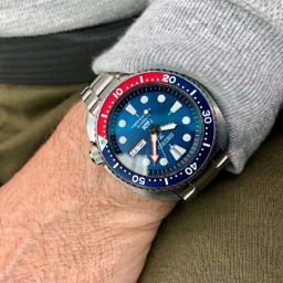 Seiko PADI Turtle Watch Luxury