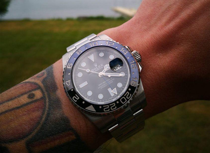 Rolex 116710 BLNR Batman