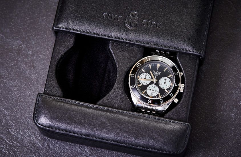 TAG Heuer Autavia Time Tide 2 845x550 - ANNOUNCING: We are selling 10 TAG Heuer Autavias with Collector's Pack and exclusive event, launching Monday