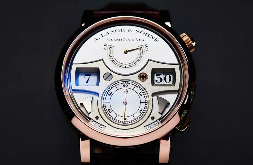 The detailed design of A. Lange & Söhne