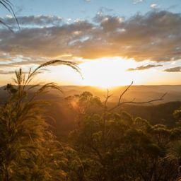 Montblan sunrise