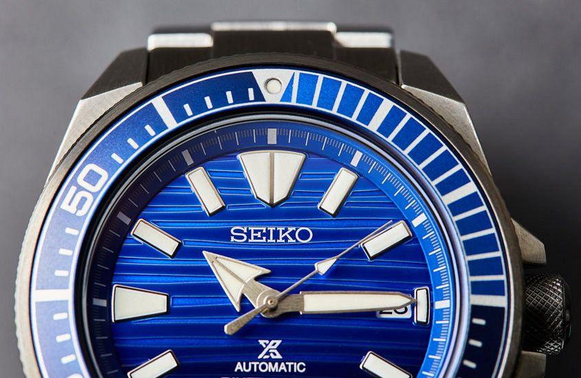 Seiko Samurai 'Save The Ocean' SRPC93K