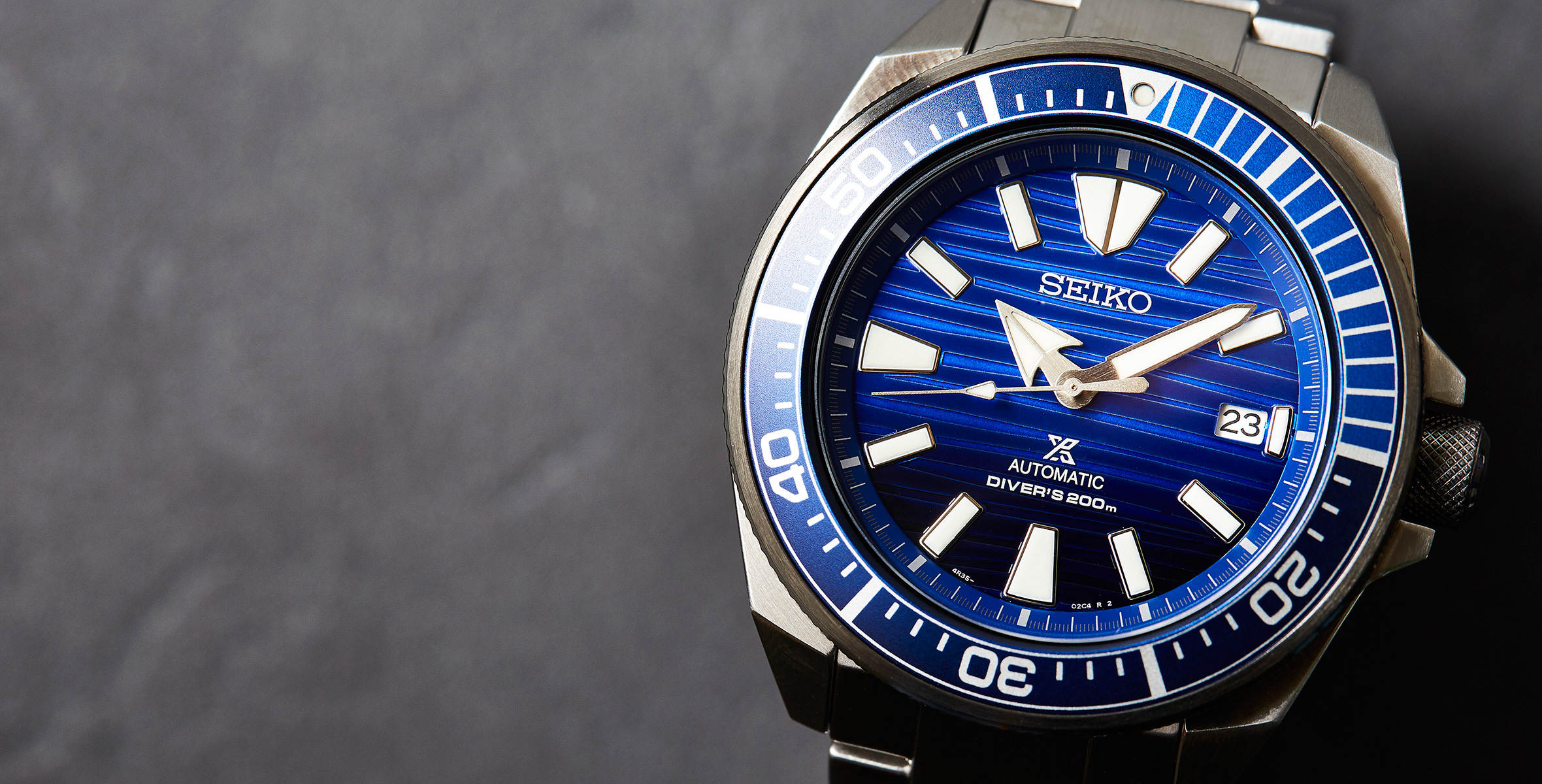 IN-DEPTH: The Seiko Samurai 'Save The Ocean' SRPC93K | Time and Tide
