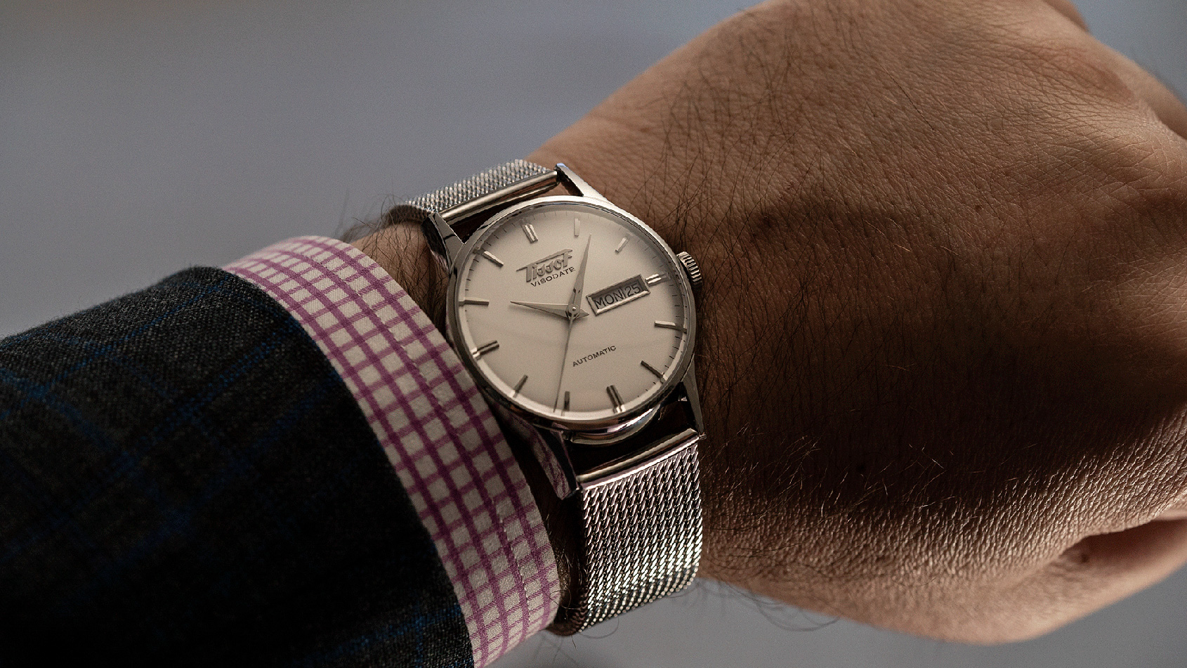 VIDEO  One of the greats – the Tissot Visodate  ab512db6a1