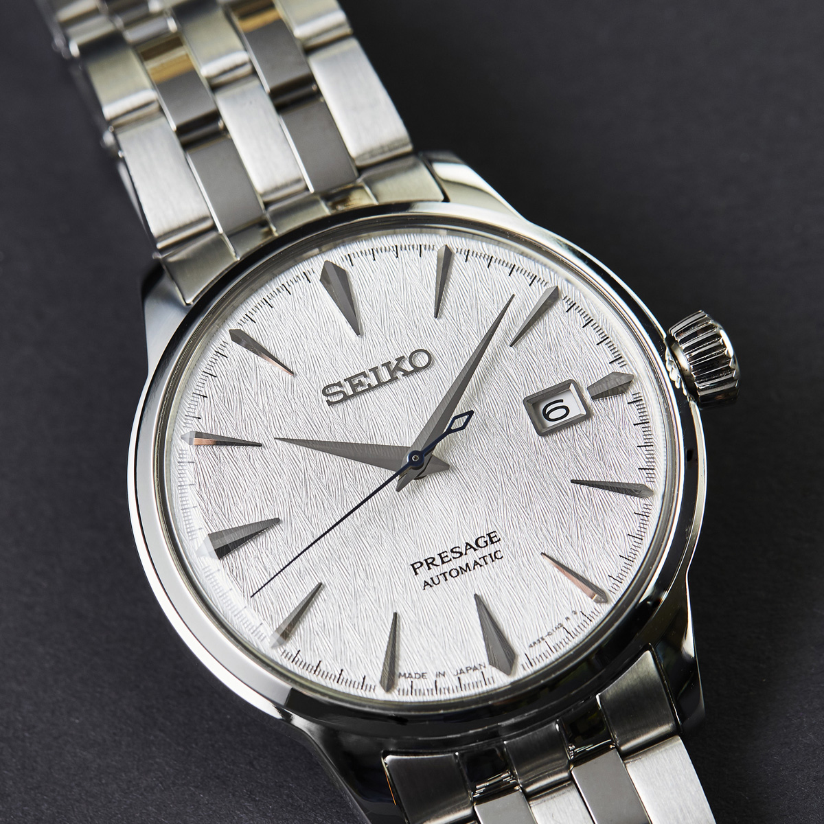 Seiko presage watch winter scene for Winter watches
