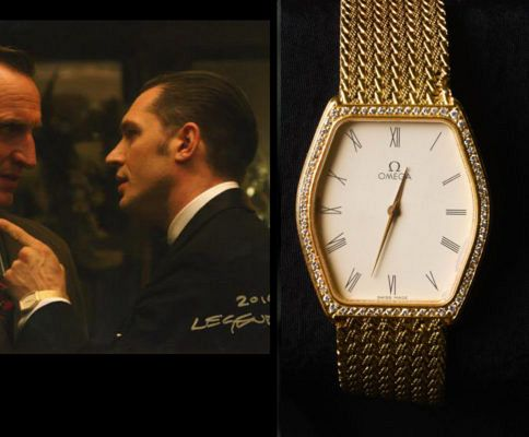 Tom Hardy watches