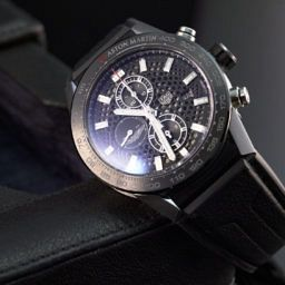 a1b020fdd8638 VIDEO  Get your engines running with the TAG Heuer Carrera Heuer 01 Aston  Martin special edition
