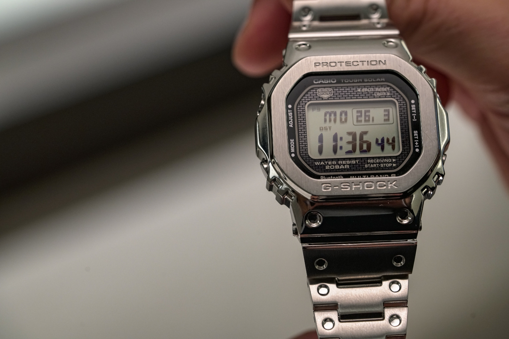 newest 0cdaa c6480 HANDS-ON: Heavy metal – the Casio G-Shock Full Metal GMW ...