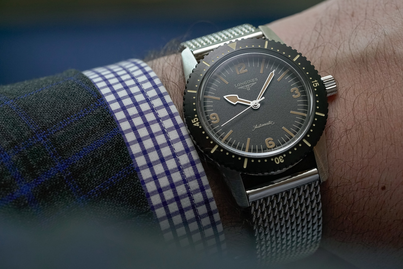 Video The Longines Skin Diver Watch Time And Tide Watches