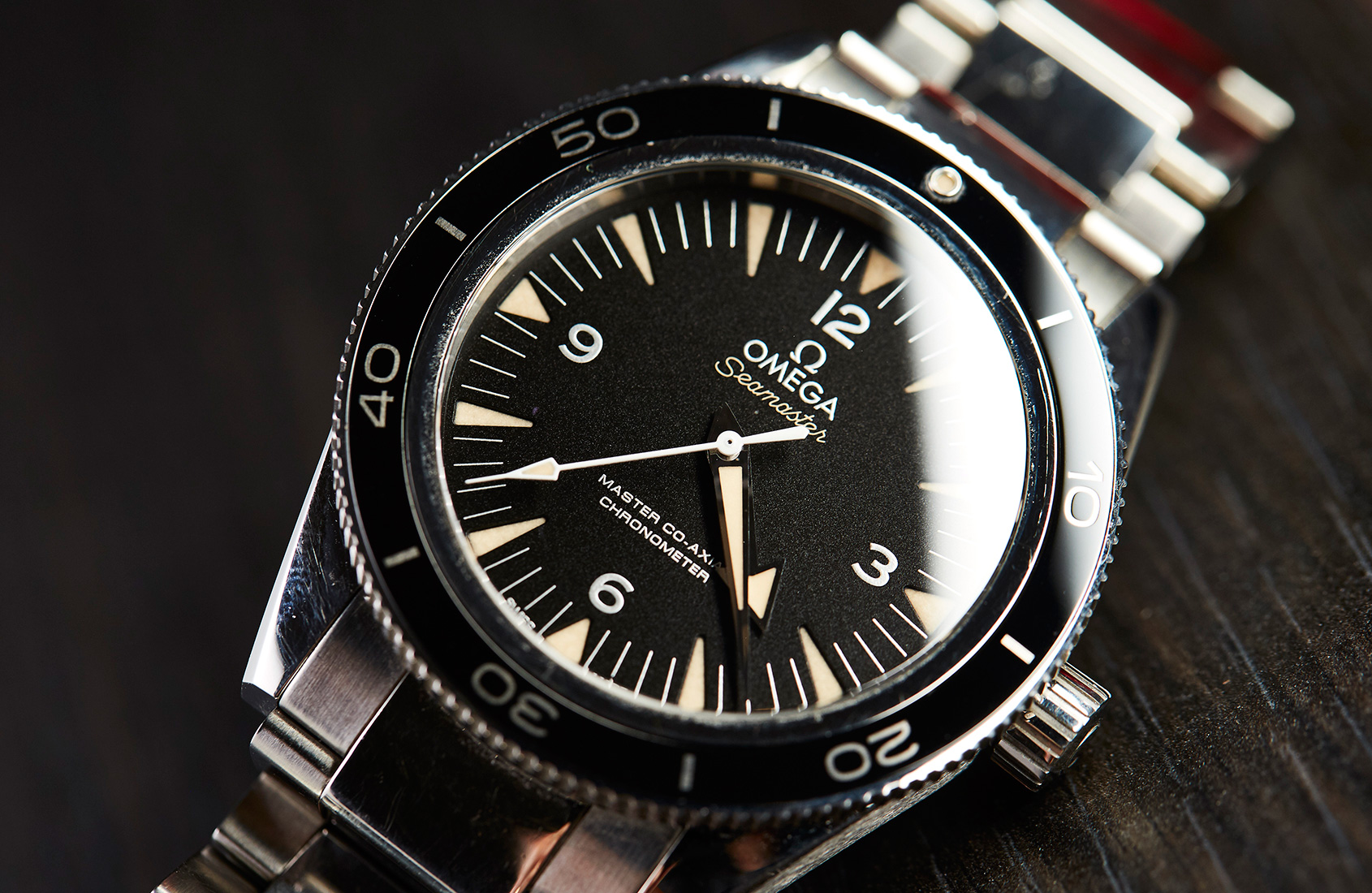 faf1eab63c12 MY MONTH WITH  A beaten-up Omega Seamaster 300