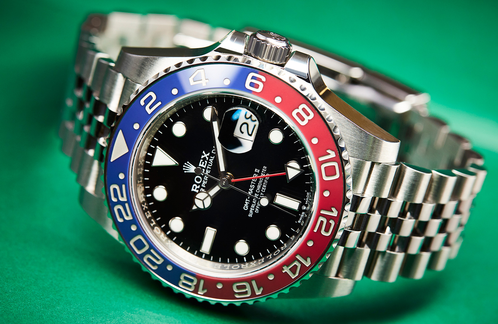 Rolex fake watch GMT Pepsi 2020 video review