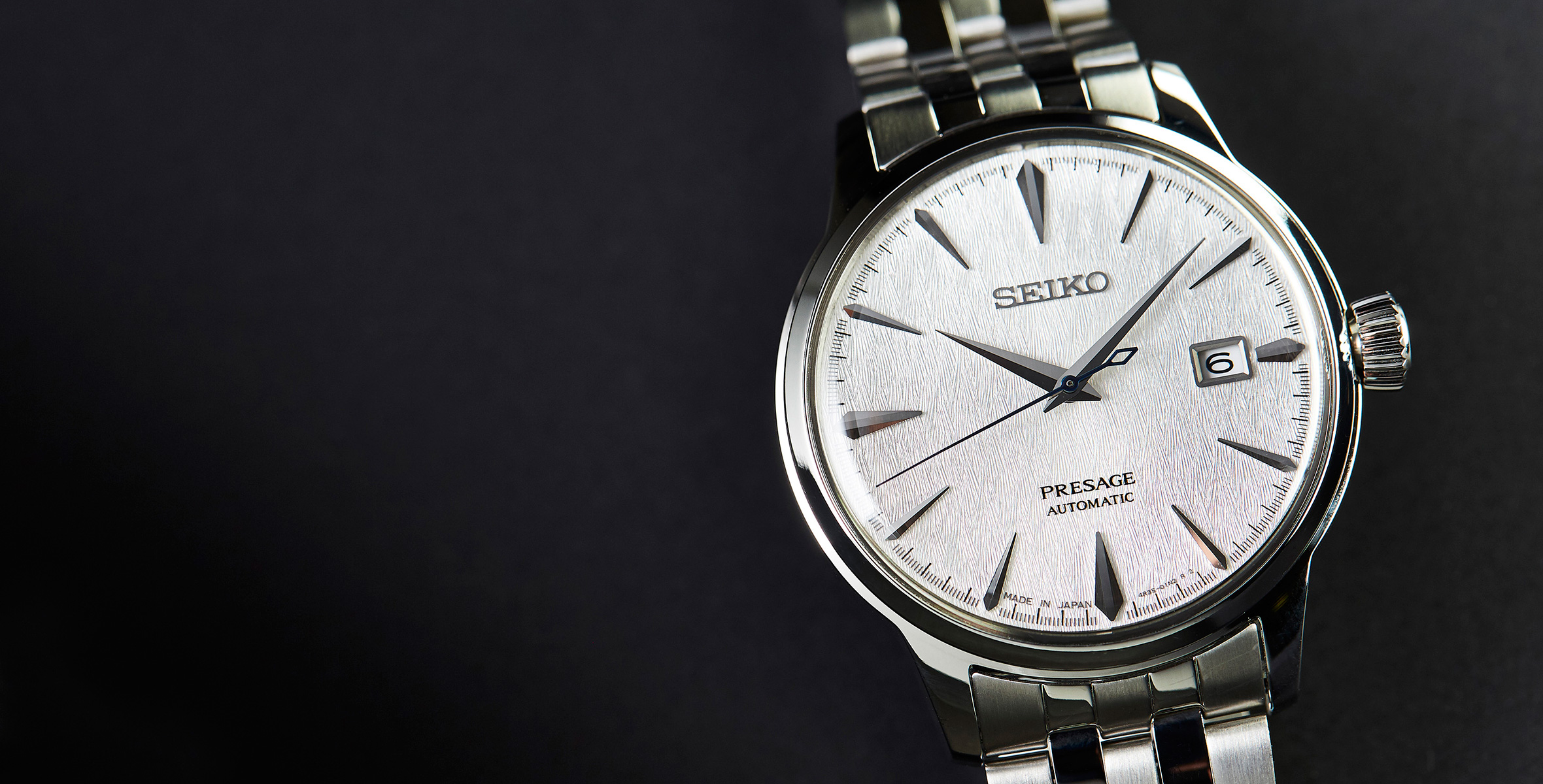 Announcing we are selling seiko s latest stunning cocktail time the fuyugeshiki 39 winter scene for Winter watches