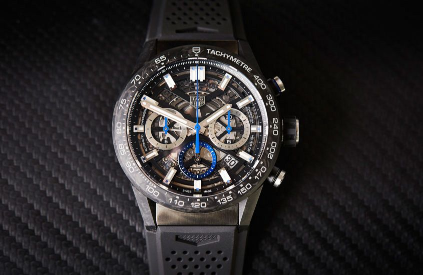 d4442a9df309 VIDEO  Altered Carbon – TAG Heuer s Carrera Heuer 02 Carbon