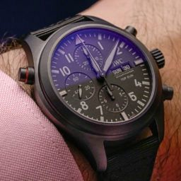 HANDS-ON: The IWC Pilot's Watch Double Chronograph Top Gun in Ceratanium