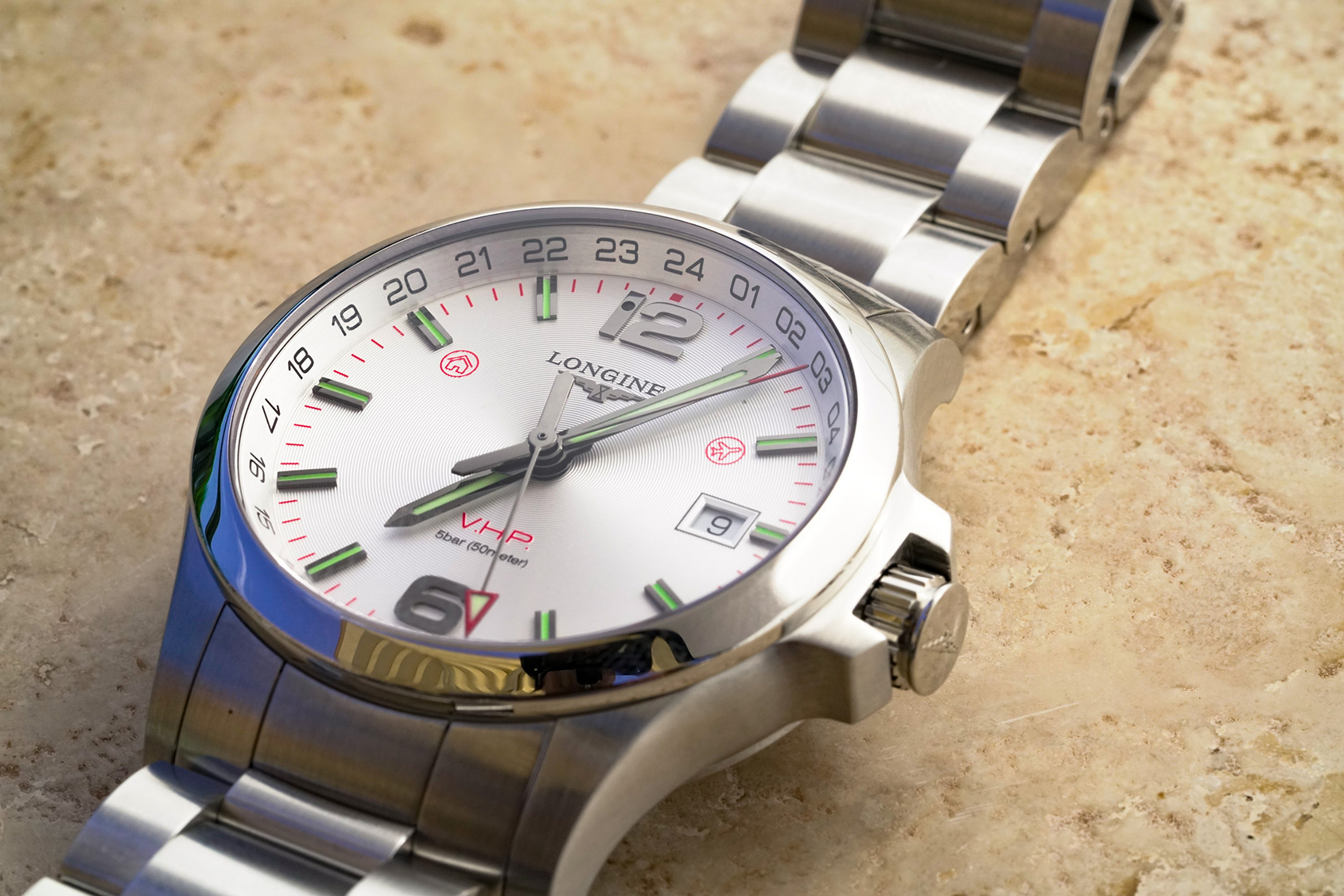 """Longines Conquest VHP GMT """"Flash Setting"""" review"""