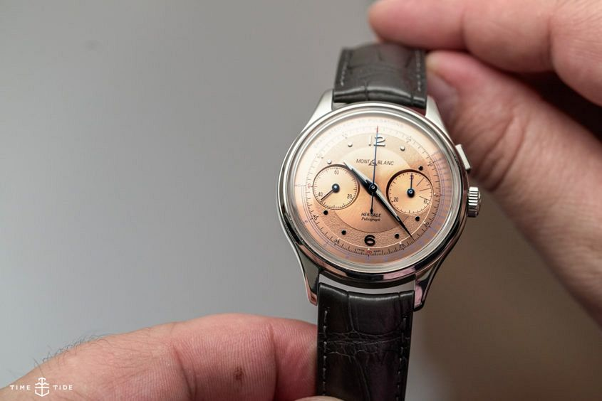 Montblanc Heritage Pulsograph dial