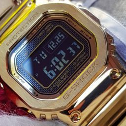 MY 2 MONTHS WITH: The golden boy Casio G-Shock Full Metal GMW-B5000GD-9