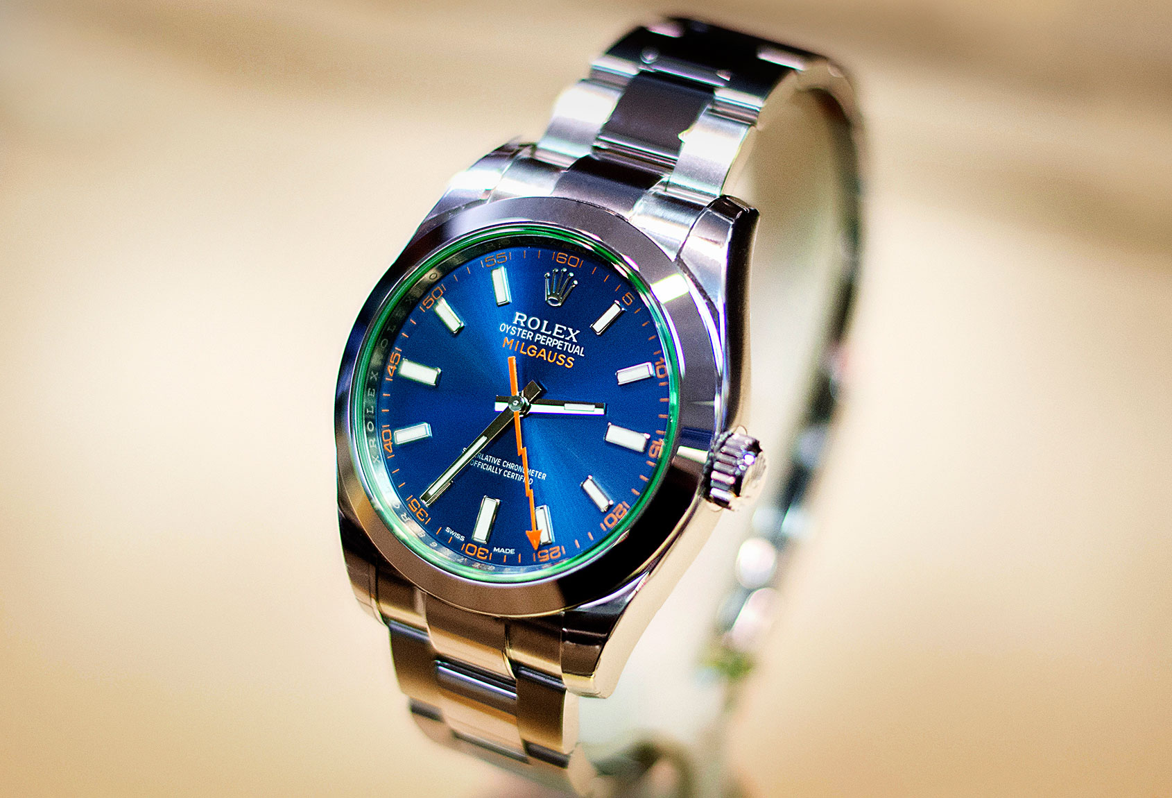 Rediscovering the Rolex Milgauss Z,Blue ref.116400GV