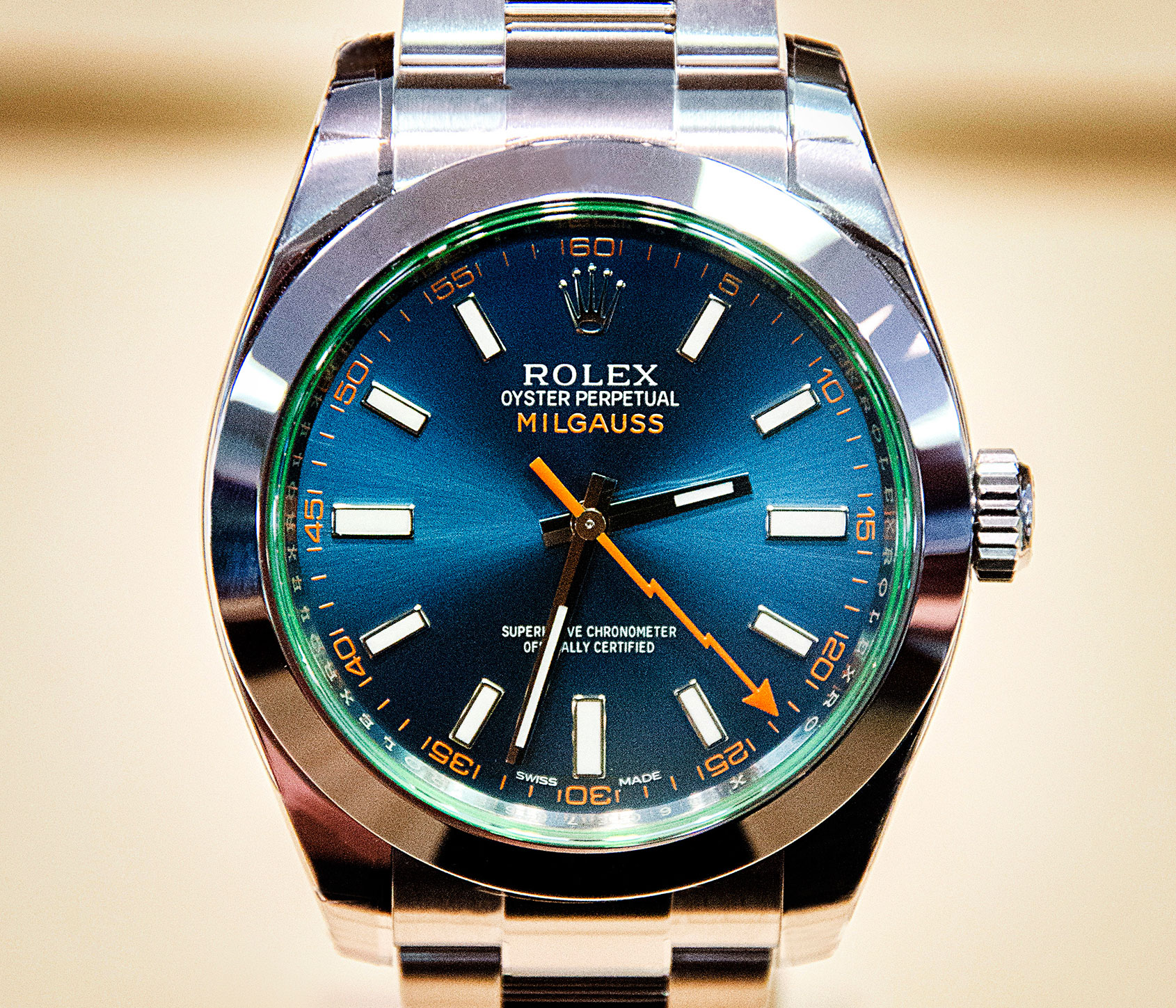 HANDS,ON The Rolex Milgauss Z,Blue \u2013 the rebel Rolex