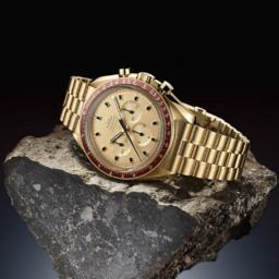 17de1d73fd8ed INTRODUCING  A brand new gold Speedmaster for half the price of vintage –  the Omega Speedmaster Apollo 11 50th Anniversary Limited Edition