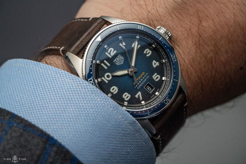 Tag heuer autavia isograph video review for Tag heuer autavia isograph