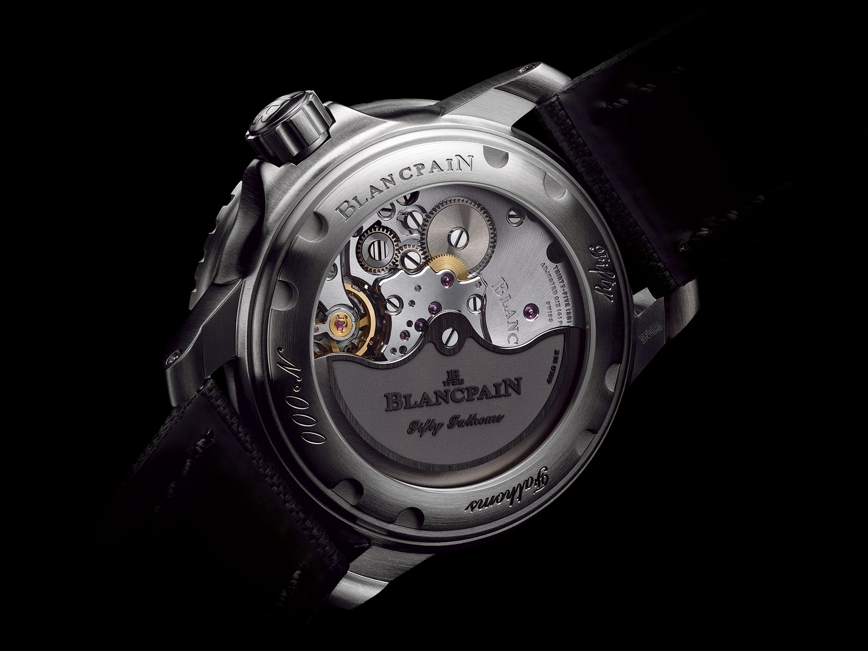 Introducing The Blancpain Fifty Fathoms In Titanium Time And Tide