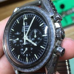 1f58625c92e Bringing one of the most badly abused Omega Speedmasters we've ever seen  back from the dead