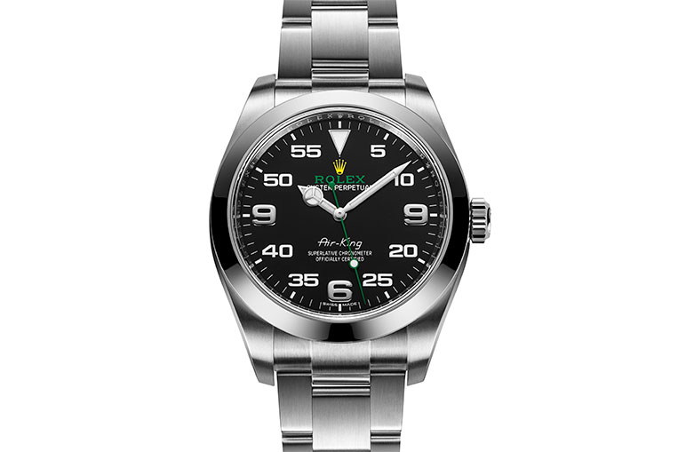 Rolex Air-King with double nine defect 116900