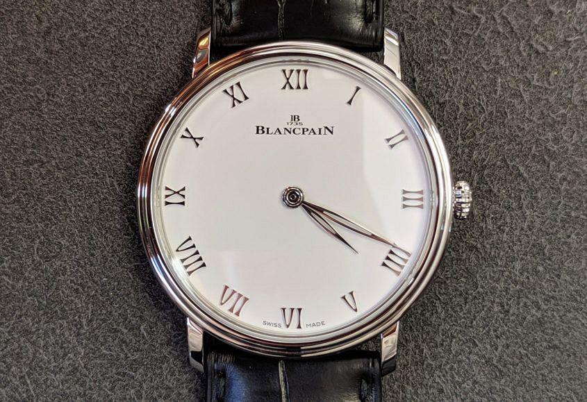 The Blancpain Villeret Extra Flat 6605