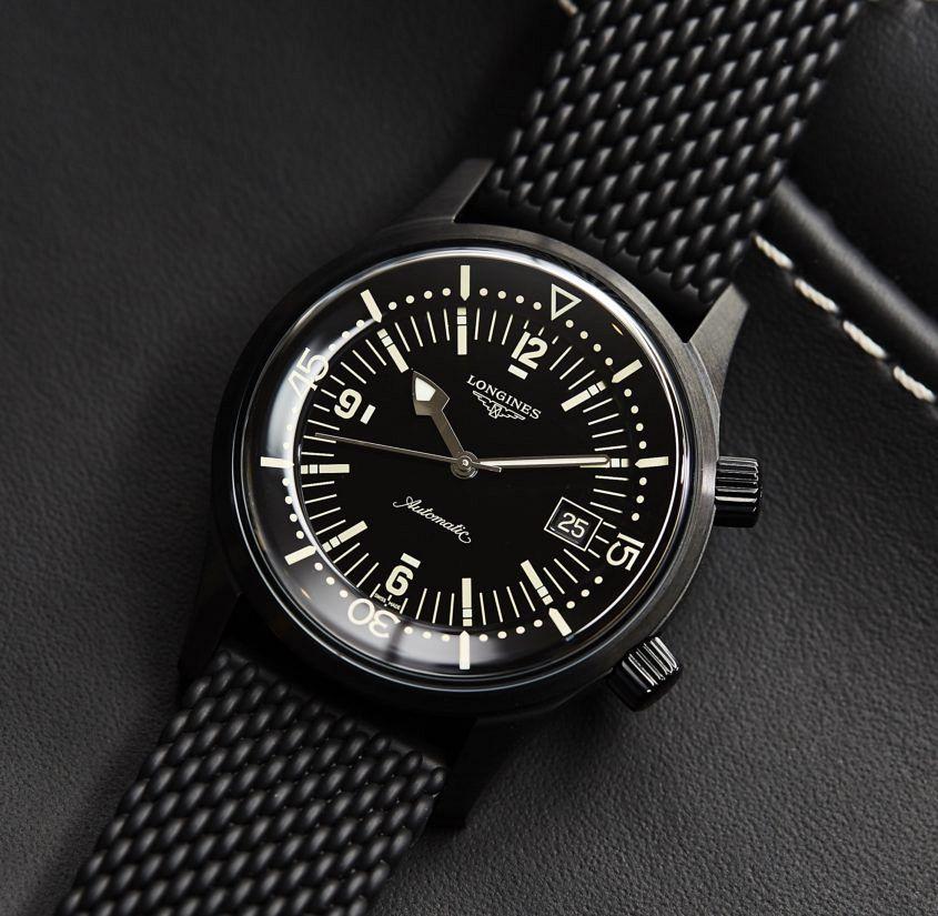 Longines Legend Diver Black 12020