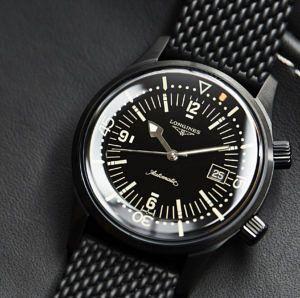 Longines Legend Diver Black 12022