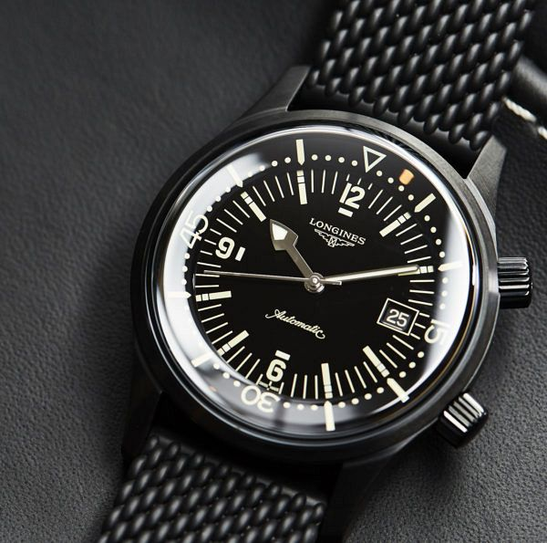 Longines Legend Diver Black 12022