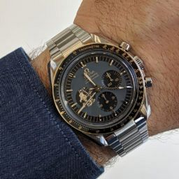 6850c04edf24 INTRODUCING: The Omega Speedmaster Apollo 11 50th Anniversary Limited  Edition in steel (with a bit of gold)