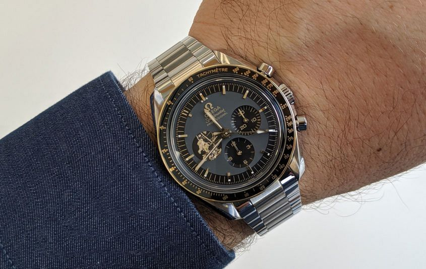 Omega Speedmaster Apollo 11 50th Anniversary Limited Edition in steel
