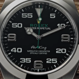 Rolex Air-King with double nine defect
