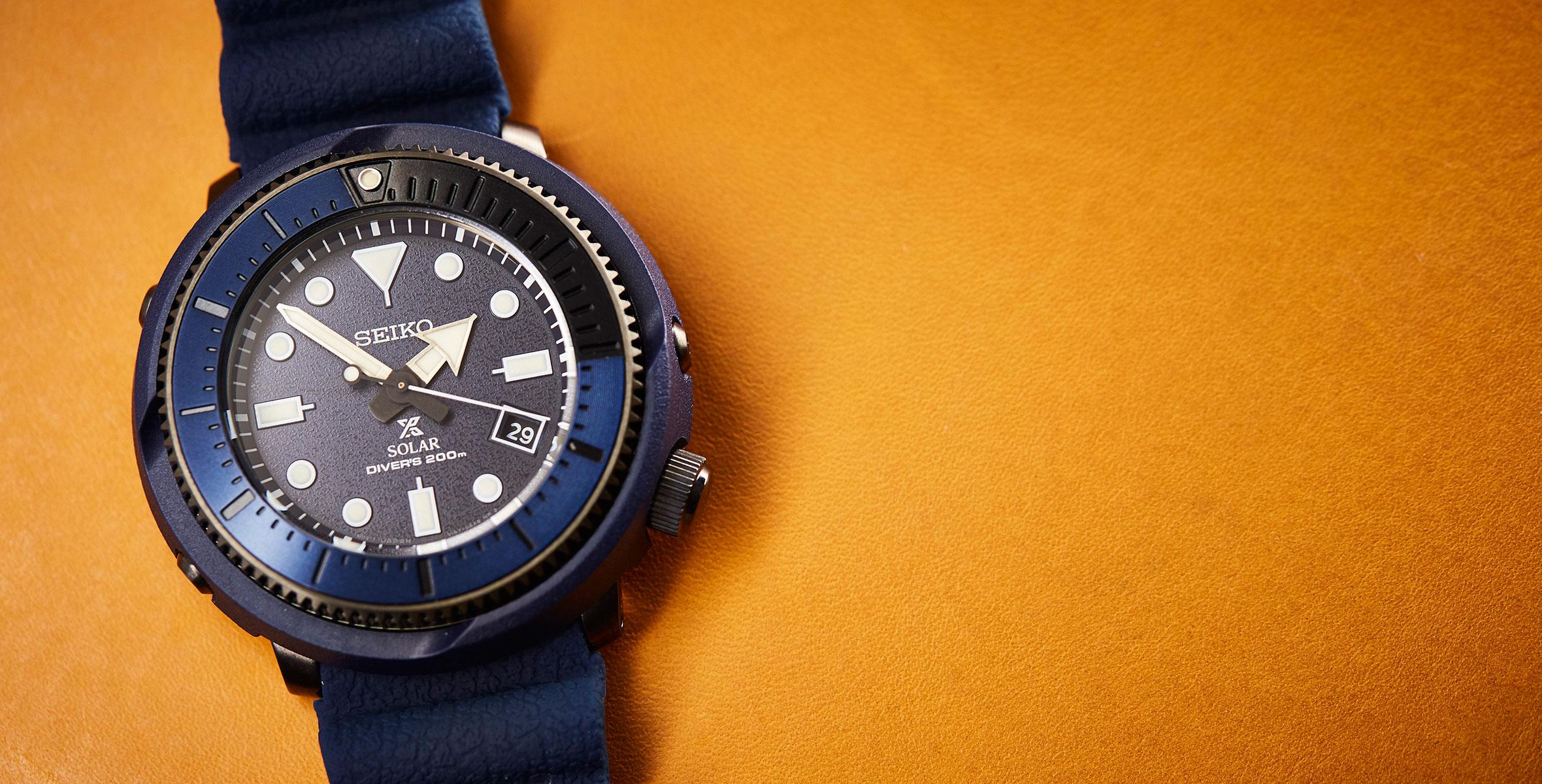 Seiko Prospex 'Street Series' Solar Diver SNE533P review