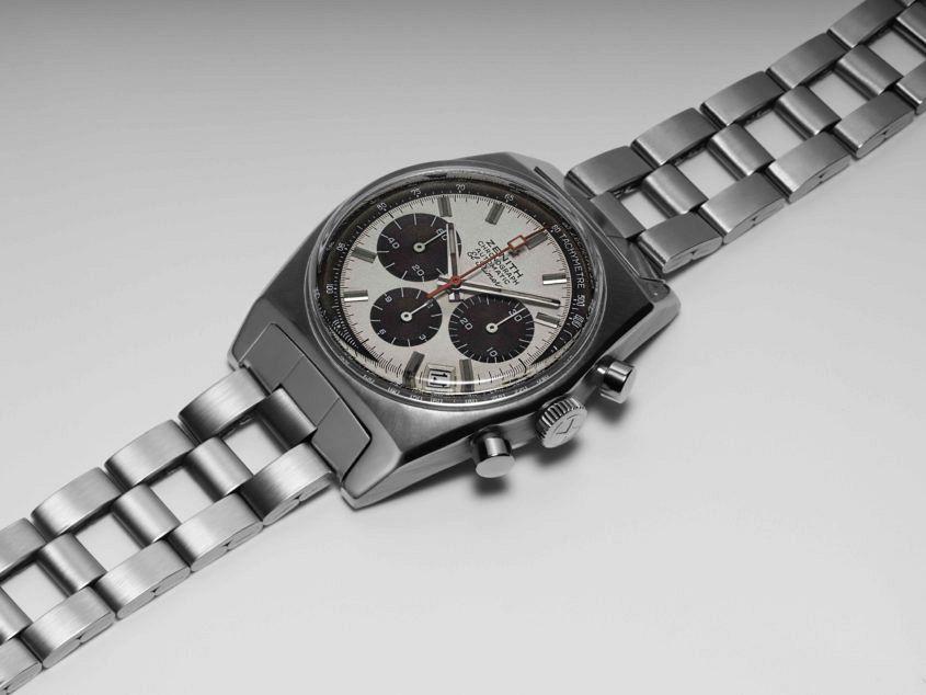 Original Zenith A384 chronograph